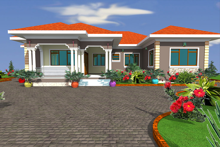 Home compound designs home design for Best home compound designs